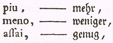 Daniel Gottlob Türk. Klavierschule. 1789. Pg. 116.