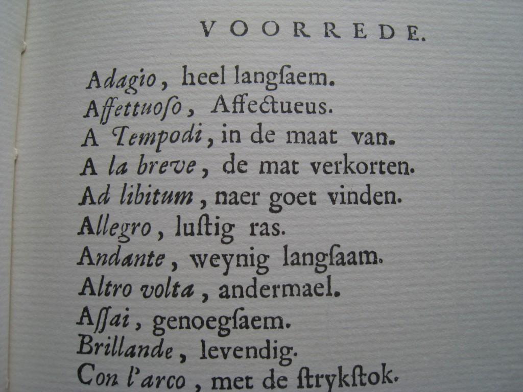 J.P.A. Fischer. Grond – Regelen van de Bassus – Continuus. 1731.