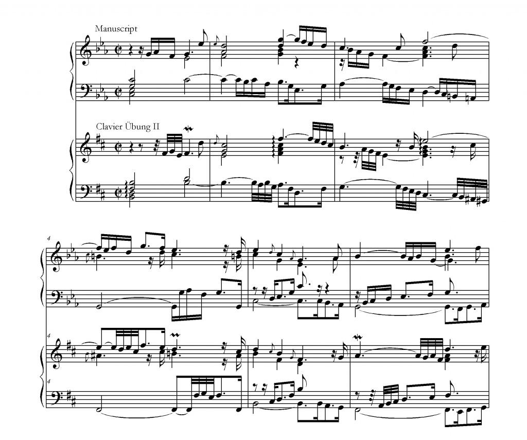 Ouverture JS Bach