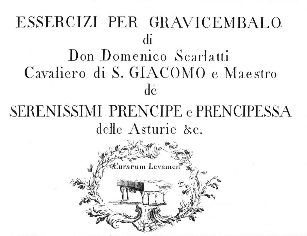 Scarlatti Eesercizi