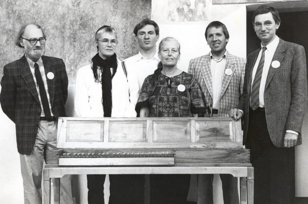Oprichting Clavichord Genootschap