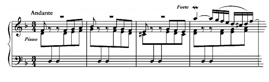 J.S. Bach. Concerto nach Italienischem Gusto. BWV 971.
