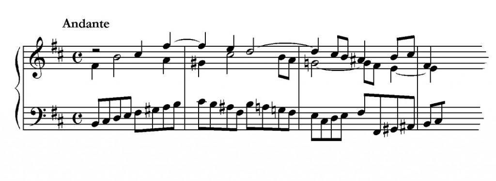 J.S. Bach. WTC I, 24. BWV 869.