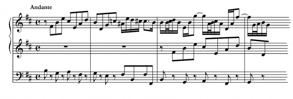 J.S. Bach. Trio Sonata IV for Organ. BWV 528.