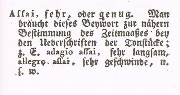 Heinrich Christoph Koch. Musikalisches Heinrich Christoph Koch. Musikalisches Lexikon. 1802.