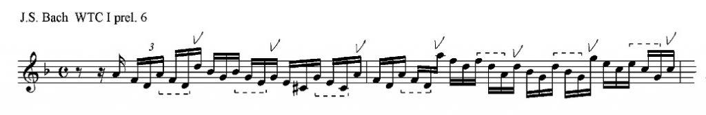 Bach WTC I, 6